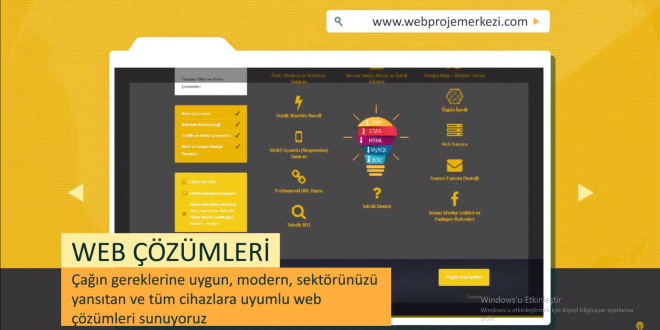 Web Proje Merkezi Tanıtım Videosu
